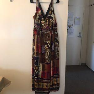 Lane Bryant EUC sleeveless maxi dress size 20